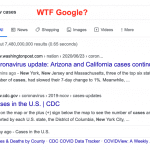 Google new cases search